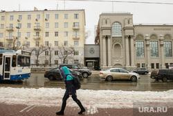 Жилой дом возле филармонии. Екатеринбург, свердловская филармония, улица карла либкнехта40, улица карла либкнехта38а