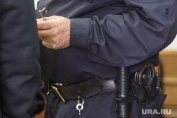 Судебный процесс по делу Мануйлова. Екатеринбург, наручники, арест, форма, обмундирование, полиция, спецсредства