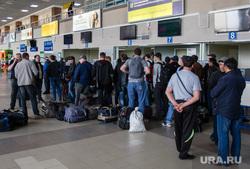 Аэропорт. Сургут, регистрация на рейс, аэропорт сургут, вахтовики, пассажиры