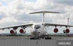 Открытие грузового терминала аэропорт Кольцово. Архив 2012. Екатеринбург., самолет, ил76