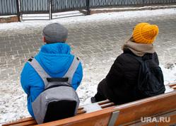 Улицы города за полгода до ЧМ-2018. Готовность принять туристов. Екатеринбург, скамейка