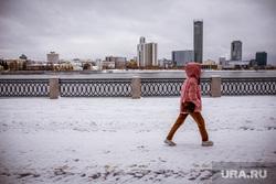 Виды города. Екатеринбург, башня исеть, город екатеринбург, набережная, снег