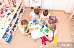 Клипарт. Магнитогорск, детский сад, стол, лего, дети, игра