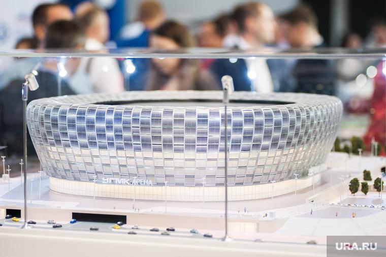ИННОПРОМ-2018. Первый день международной выставки. Екатеринбург , макет, иннопром2018, угмк арена, ледовая арена угмк, международная промышленная выставка
