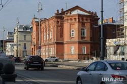 Здание Свердловского мужского хорового колледжа. Екатеринбург, памятник архитектуры, старое здание, свердловский мужской хоровой колледж