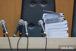 Судебное заседание по делу Владимира Рыжука. г. Курган, материалы дела, микрофоны, суд