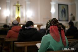 Визит Архиепископа Павла по случаю 25-летия возрождения деятельности прихода. Пермь, храм, церковь, молитва, крест, служение, месса