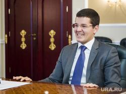 Интервью с врио губернатора ЯНАО Дмитрием Артюховым. Салехард, улыбка, смех, портрет, артюхов дмитрий