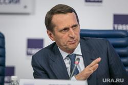 Пресс-конференция ЕР в ТАСС. Москва, нарышкин сергей