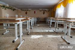 Закрывают школу №14 на 800 учеников. Полевской, парты, школьная столовая
