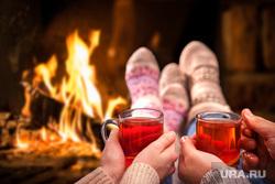 Клипарт. Новый год, праздники, работа, камин, чай, семья, рождество, отдых, тепло, огонь, уют