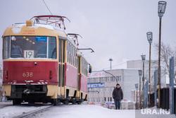 Таганский ряд. Екатеринбург, трамвай, маршрут 19, общественный транспорт
