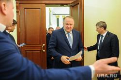 Пресс-подход Цуканова и Дубровского по итогам совещания. Челябинск, цуканов николай