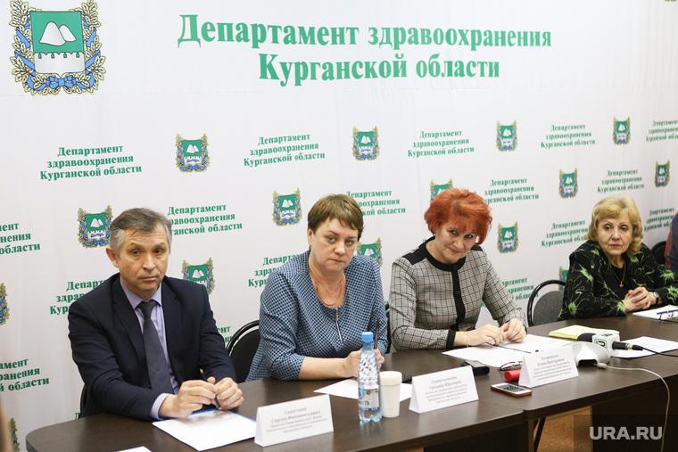 Пресс конференция по национальному проекту здравоохранения. Курган, сахатский сергей