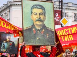 Парад Победы в Великой Отечественной войне. Тюмень, коммунисты, портрет сталина, парад победы, кпрф