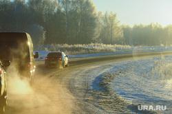 Мороз. Зима.Село. Дорога. Клипарт. Челябинск, кортеж, зима, рассвет, дорога