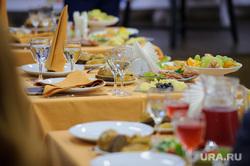 Празднование дня рождения Дома журналистов. Екатеринбург, накрытый стол, банкет, застолье, пища, праздник, еда