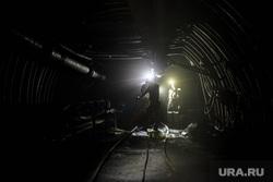 Угольная шахта Щегловская Донбасского шахтоуправления. Макеевка, горизонт, тоннель