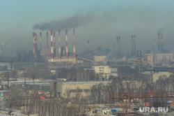 Городская свалка. Экологи исследуют квадрокоптером, пожарные дежурят на случай возгорания. Челябинск, дым, трубы, экология, мечел, смог