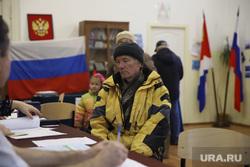 Повторные выборы губернатора Приморского края. Владивосток, избирательный участок