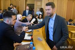 Заседание Екатеринбургской городской думы, вихарев алексей, гордеев олег, ступников роман