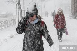 Сильный снегопад в Екатеринбурге, непогода, метель, снег, снегопад, зима