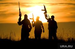 Терроризм, террористы , оружие, автоматы, терроризм, террористы, военные действия
