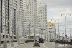 Благоустройство города в районе Екатеринбург-Арены, новостройки, улица татищева