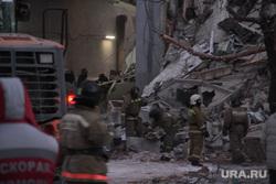 Взрыв бытового газа в доме № 164 на проспекте Карла Маркса. Магнитогорск, мчс, руины, последствия взрыва