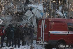 Взрыв бытового газа в доме № 164 на проспекте Карла Маркса. Часть 2. Магнитогорск, руины, машина мчс, последствия взрыва