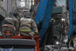 Взрыв бытового газа в доме № 164 на проспекте Карла Маркса. Часть 6. Магнитогорск, мчс, спасатели, разбор завалов