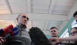 Пресс-подход Бориса Дубровского. Магнитогорск, дубровский борис