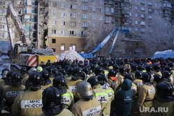 Завершение спасательной операции на проспекте Карла Маркса, 164. Магнитогорск, мчс, толпа, проспект карла маркса 164