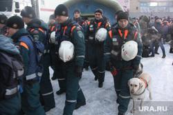 Завершение спасательной операции на проспекте Карла Маркса, 164. Магнитогорск, спасатели, поисково-спасательная служба