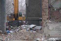 Взрыв бытового газа в доме № 164 на проспекте Карла Маркса. Часть 10. Магнитогорск, спецтехника, руины