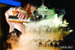 VIP Кароке-батл. Юбилей портала «Очевидец». Курган, дым, алкоголь, пирамида из бокалов, сухой лед