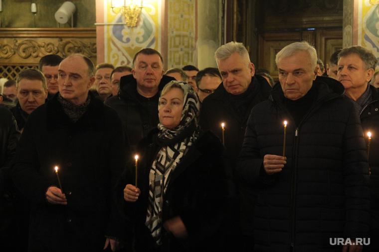 Панихида по погибшим жителям дома № 164 на проспекте Карла Маркса. Магнитогорск