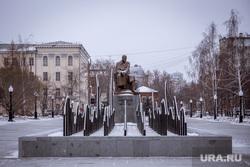 Обновленный сквер Попова. Екатеринбург, памятник попову, сквер попова
