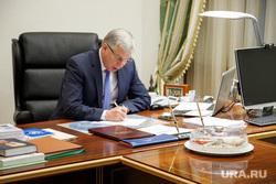 Встреча с Александром Мажаровым в здании правительства ЯНАО. Салехард, рабочее место, мажаров александр