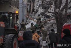 Взрыв бытового газа в доме № 164 на проспекте Карла Маркса. Магнитогорск, разбор завалов, мчс, руины