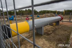 Газопровод рядом с дачами. Сургут, газопровод, прокладка газопровода, наземная прокладка