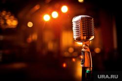 Клипарт depositphotos.com, микрофон, караоке, петь в микрофон
