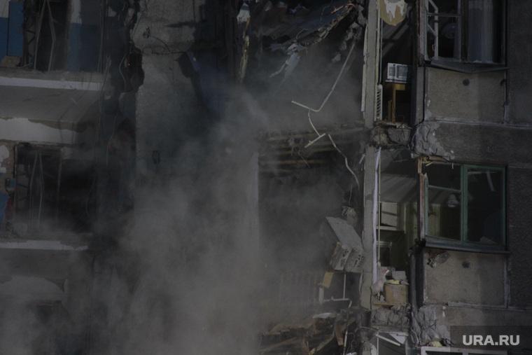 Демонтаж 7-го подъезда дома № 164 на проспекте Карла Маркса. Магнитогорск
