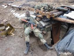 Фотографии с передовой. Украина. ДНР, война, блиндаж, окоп