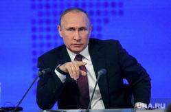 12 ежегодная итоговая пресс-конференция Путина В.В. (перезалил). Москва, путин владимир, жест рукой