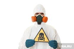 Клипарт depositphotos.com, опасная зона, радиация, защитный костюм, выбросы, противогаз, защитная одежда, загрязнение окружающей среды