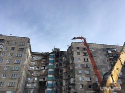 Обрушение дома в Магнитогорске, разрушенный дом, проспект карла маркса 164, демонтаж подъезда