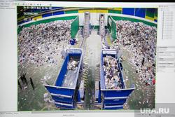 фото с камер наблюдения мусоросортировочного завода, где нашли труп.Тюмень, экран, мусоросортировочный завод