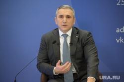 Пресс-конференция губернатора Тюменской области Александра Моора. Тюмень, моор александр