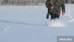 Клипарт. Охота. Челябинск, зима, мороз, охотник